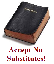 No Substitutes